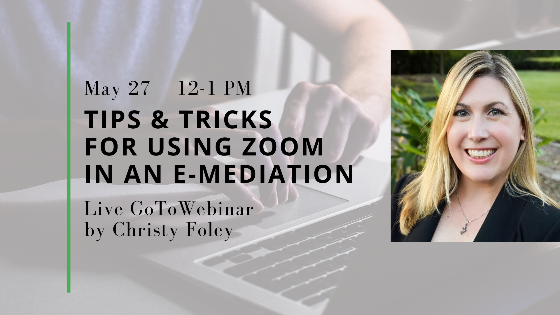 Using Zoom in an Online Mediation